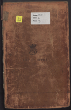 Boundary Line between British North America and United States, 1816 - 1818, Vol. 3, Miscellaneous