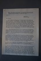 Letter from Anna Lord Strauss to the Committee of Correspondence, September 23, 1958