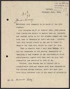 Letter from Norman Mayers to W. A. Smart re: Travel Warnings, February 21, 1926
