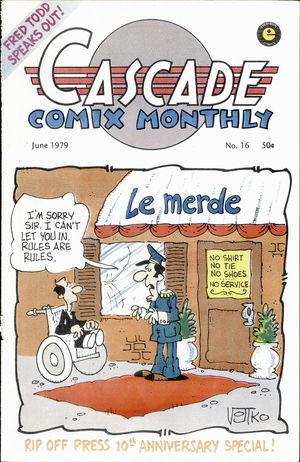 Cascade Comix Monthly, no. 16