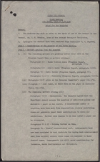 Brief to the Minister - Sixth Meeting, March 06, 1959