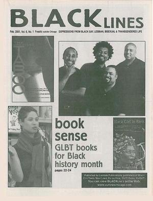 BLACKlines, Vol. 6 no. 1, February 2001