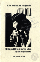 Program for China Doll by Elizabeth Wong at Adams Pool Theater, Cambridge, MA, October 29-30, 1999. Directed by LeeAnn Tzeng.