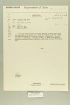 Airgram from AmEmbassy Tel Aviv to Secretary of State, August 19, 1960