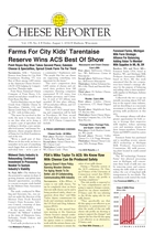 Cheese Reporter, Vol. 139, No. 6, Friday, August 1, 2014
