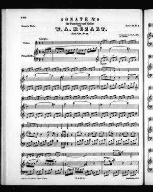 Sonata No. 9 in F (K. 14), K. 14, C Major