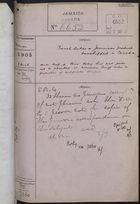 Colonial Office Correspondence Register, re: Letter from Foreign Office on French Duties for Jamaican Products Transshipped in Canada, with Related Minutes, March 1, 1905