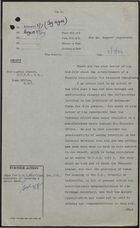Draft of Letter from P. Rogers to Sir Austin Strutt, re: Funding for Immigrant Housing, July 3, 1959
