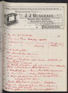 Correspondence re: William Gildea in Cuba, June-July 1897