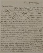 Letter from Patrick Leslie to William Leslie, October 22 1838