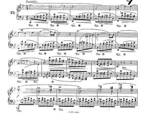 Prelude no.21