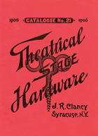 Catalogue of Theatrical Stage Hardware, no. 21