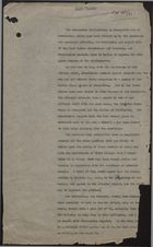 Draft Minute re: White Americans in Merseyside and Manchester Discriminating Against West Indians, March 6, 1944