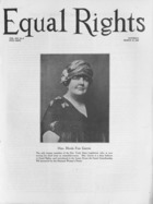 Equal Rights, Vol. 14, no. 6, March 19, 1927