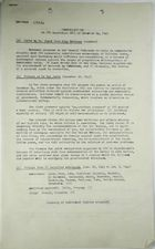 Communications and a Summary of Replies re: Committee for Political Defense Resolution XXII of December 24, 1943