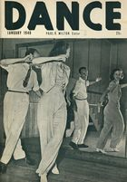 Dance (Magazine), Vol. 7, no. 2, January, 1940, Dance, Vol. 7, no. 2, January, 1940