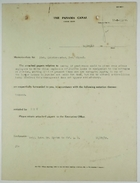 Correspondence re: Employee Housing Based on Race, Ethnicity, and Silver or Gold Categorization, March 7-October 25, 1918