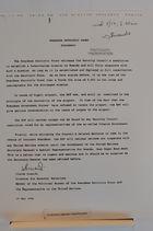 Rwandese Patriotic Front Statement