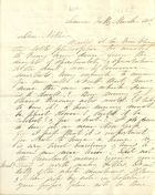 Letter from Blanche Butler Ames to Sarah Hildreth Butler, February 11, 1861