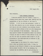Letter from G. Stuart King to R. M. Greenwood, August 19, 1924