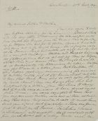 Letter from George Leslie to William and Jane Leslie, November 20, 1840