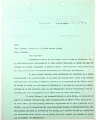 Letter from Confederacion Obrera to John T. Lassiter, July 13, 1943