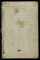 Diary and Account Book of Robert Gerrand, 1852-1854
