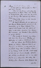 Memo by Lt. Col. Horne, May 17, 1877