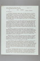 Letter from Anna Lord Strauss to the Carrie Chapman Catt Memorial Fund, July 21, 1953