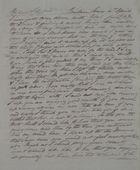 Letter from Walter Leslie to Kate MacArthur Leslie, April 4, 1842