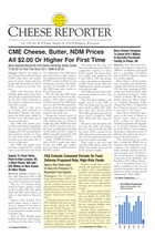 Cheese Reporter, Vol. 138, No. 40, Friday, March 28, 2014