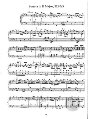 Sonata in E Major, W.62/5, E Major