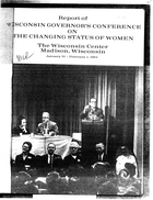 Report of Wisconsin Governor's Conference on the Changing Status of Women