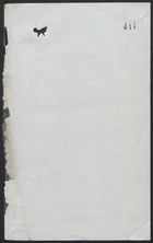 Expense Note, Undated