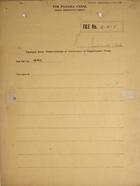 Excerpt from Memorandum of Conference of Department Heads, June 19, 1926