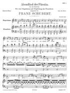 Abendlied der Fürstin.Von Joh. Mayrhofer, D. 495, F Major
