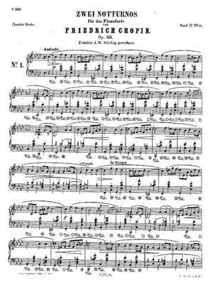 Nocturne op.55 no.1, B.152, Op. 55/1, F Minor