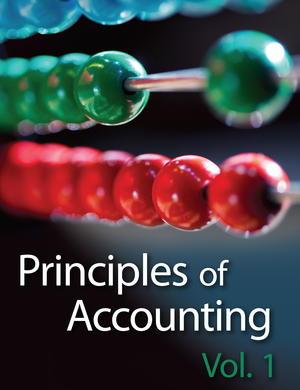 Principles of Accounting, Vol. 1