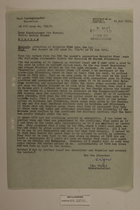 Memo from Dr. Riedl re: Abduction of Heinrich Prem into the CSR, February 12, 1951