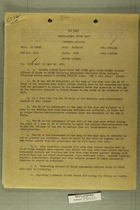 Confidential Memo from Fourth Corps to U.S. Fifth Army Headquarters Discussing Dispute Between French Forces and Allied Military Government in Italy, June 1945