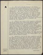 Memos to the Minister and Mr. Manktelow re: Farm Sunday, February 1944