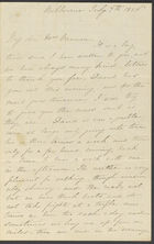 Letter from Jane Cannan to her mother in law Mrs Cannan, from Melbourne, 7 July 1856 (nla.obj-536512802)