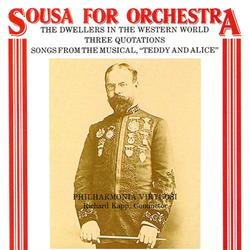 Sousa for Orchestra  Album Art