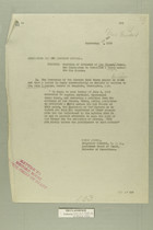 Memo from Henry Jarvey re: Petition of Citizens of Los Ebanos, Texas for Permission to Establish a Ferry Across the Rio Grande, September 27, 1918