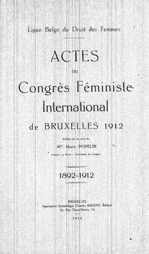 Proceedings of the Second International Congress and Sixth Annual Meeting of the Boards of Directors, International Federation of Business and Professional Women, Paris, France, July 26 to August 1, 1936