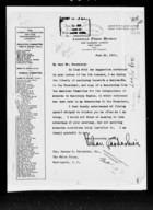 A Memorandum TO THE PRESIDENT ON ARMENIA
