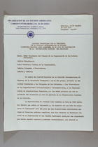 Discurso Pronunciado por la Presidenta de la Comisión Interamericana de Mujeres Licenciada Graciela Quan Valenzuela en el acto de Inauguracion de la Decimotercera Asamblea del Organismo