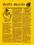 Griff's Gazette, Volume 2, Issue 3, March 1988