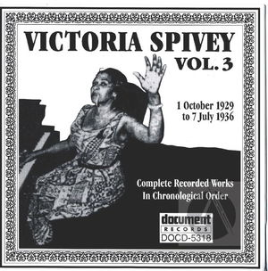 Victoria Spivey Vol. 3  1929-1936