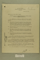 Memo from E. D. Anderson re: Killing of Alfredo Valenzuela by United States Soldier at Calexico, California, April 30, 1919